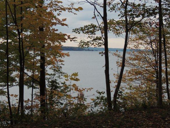 Our view of Seneca Lake.