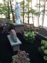 We welcome you to visit Branches' Rosary Garden. It is just beautiful.