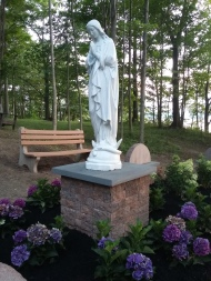 Branches' Rosary Garden phase 1 is completed. Thank you to our supporters and volunteers!